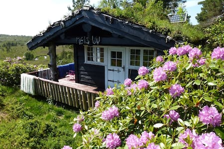 Norwegian mountain cabin by the fjord - Fitjar - Cabane
