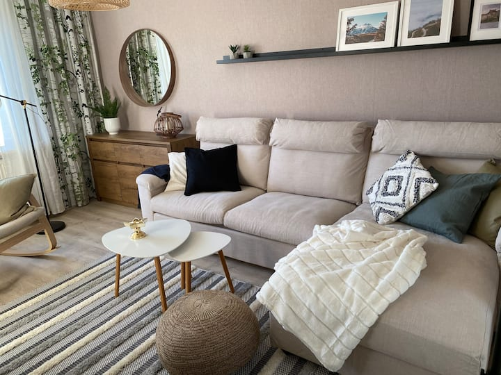 Cozy one bedroom apartment near by Saimaa