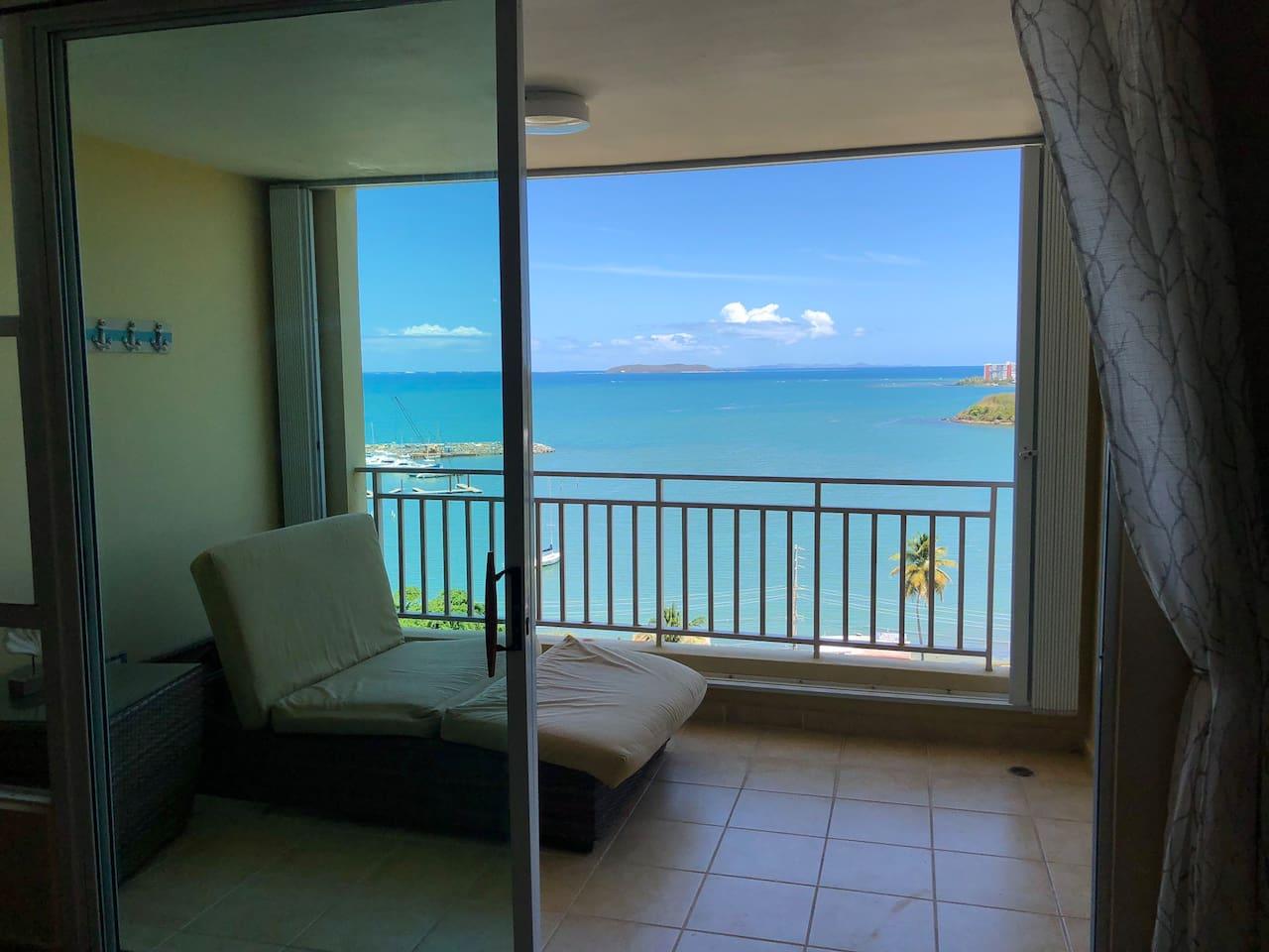 Palomino and Culebra Island view...
