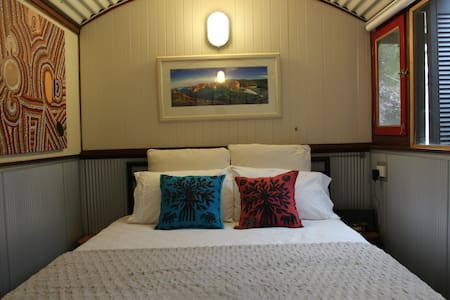 Railway Carriage Retreat