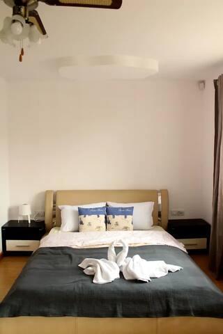 Spacious room inside Anuta's house