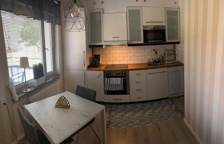 Modern lägenhet i Köping väldigt centralt