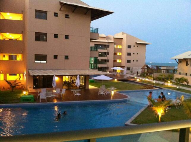 Aluguel Ekoara Residence Flat beira mar Muro Alto