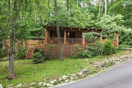 Laurel Lodge,private, wooded. - Black Mountain