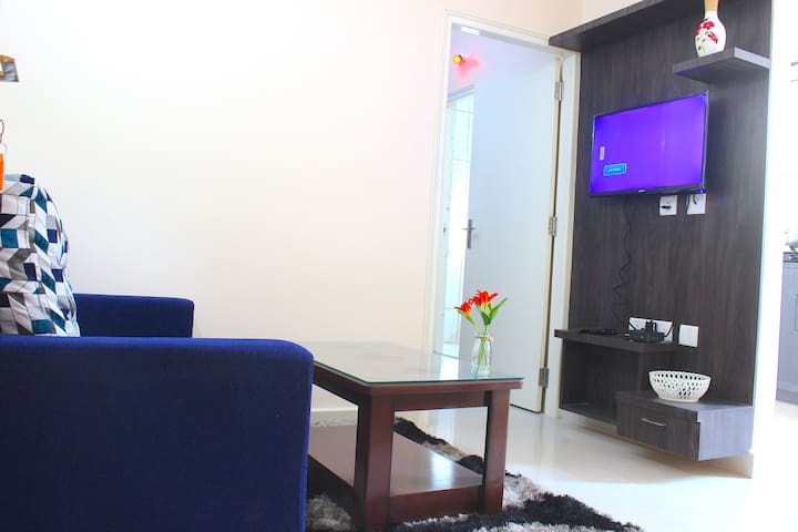 private 1bhk, for work from home , hygienic stay