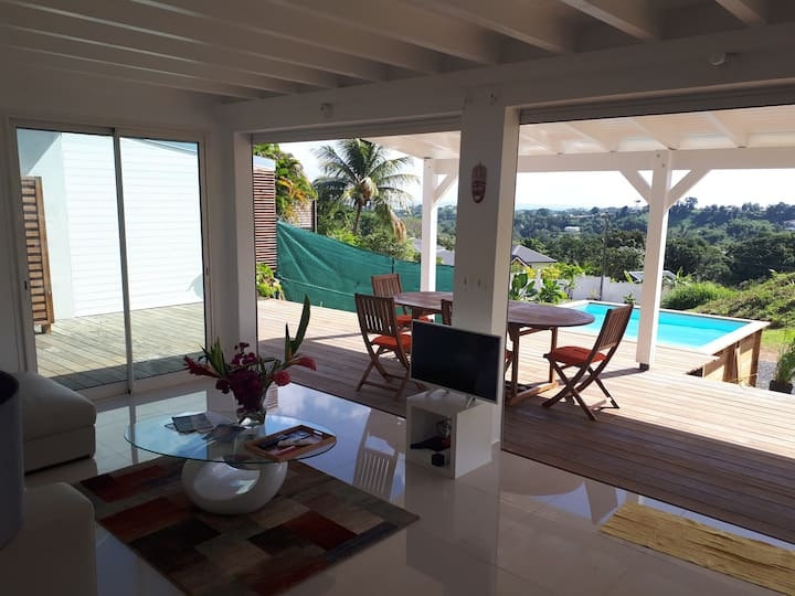Villa CANNELLE - DOUCEUR & PANORAMA VUE MER