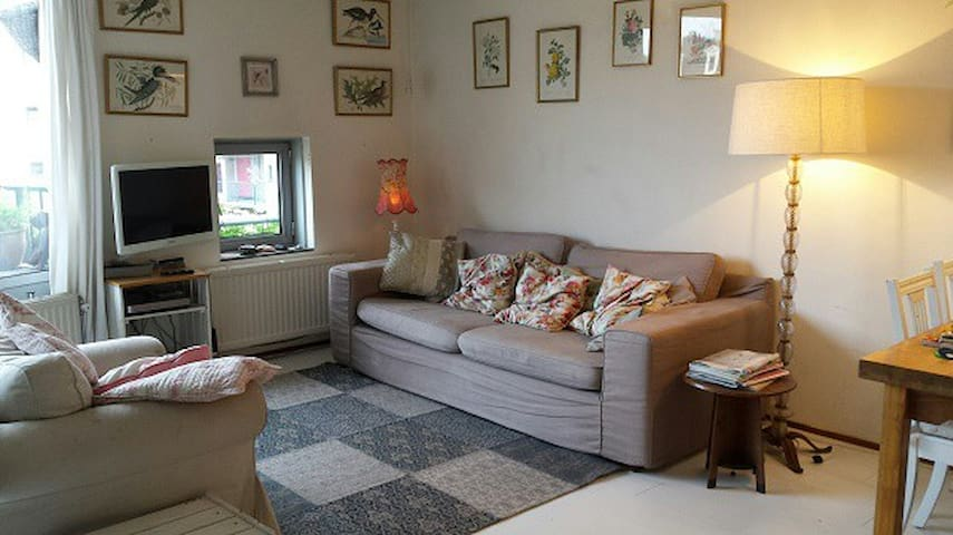 Basic shabby chique apartment on edge Jordan area - Ámsterdam - Apto. en complejo residencial