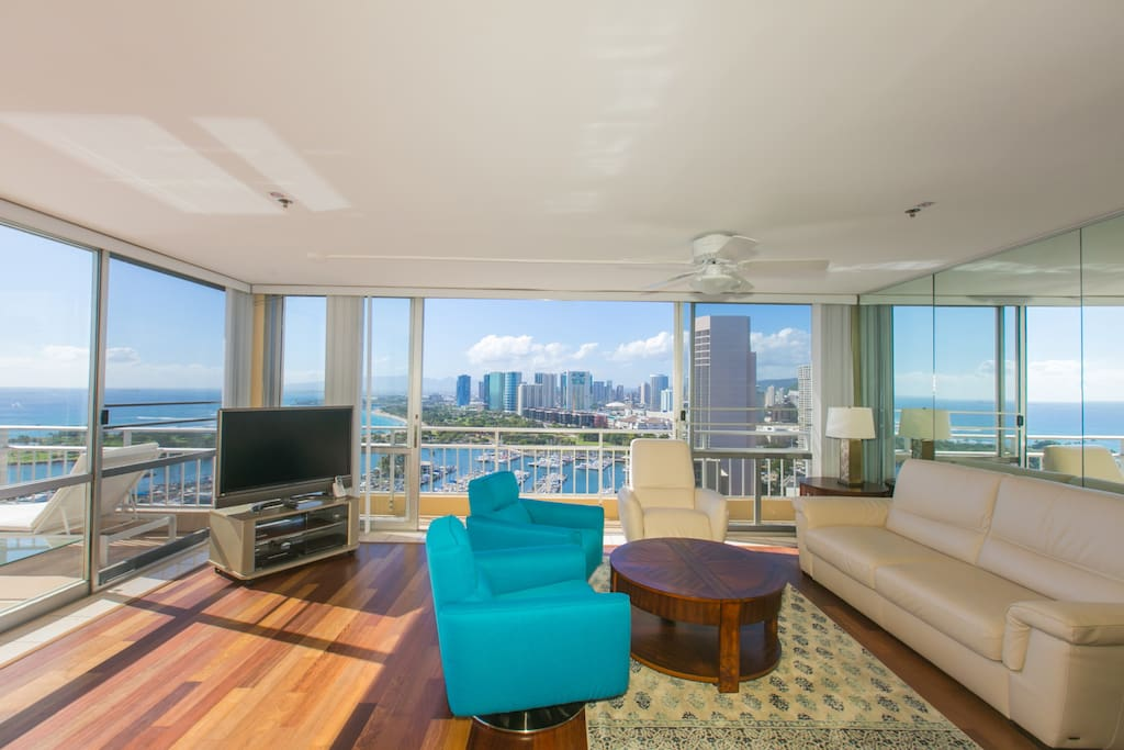 You'll never forget the amazing views from this condo and this unit is truly like no other.