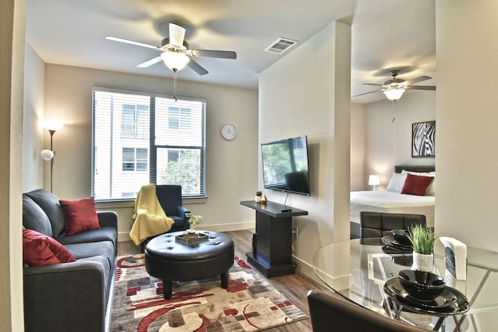 Stylish Apartment Uptown Dallas / Parking /Pool