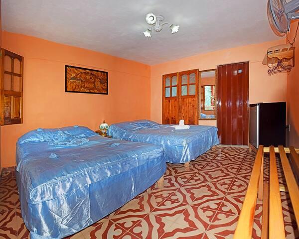 Experience in Trinidad(3 Rooms+ 3 bathroom)+WIFI