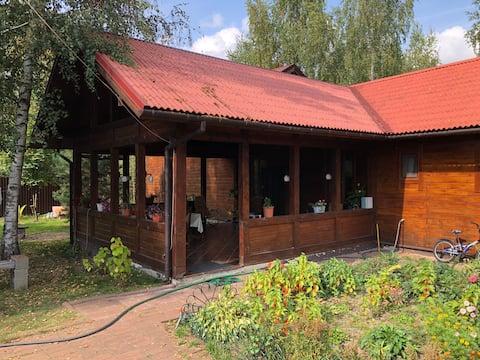 Гостевой дом с русской баней.