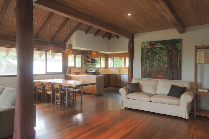 Beautiful Teak Living Space at Taru Rentals