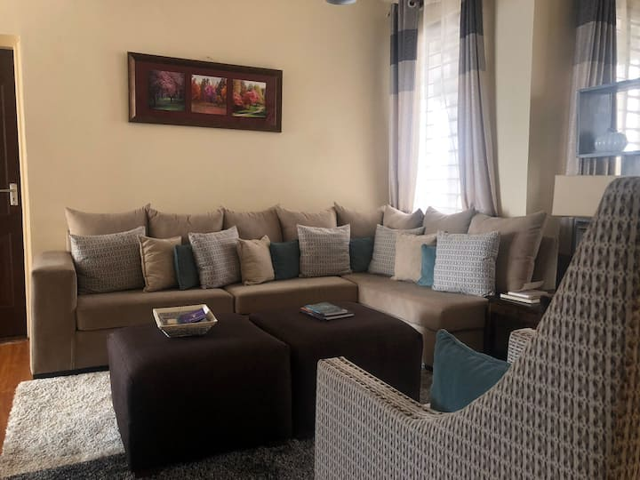 Serene family home 20 minutes from JKIA  airport