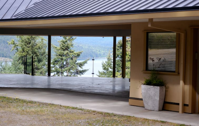 near-water views