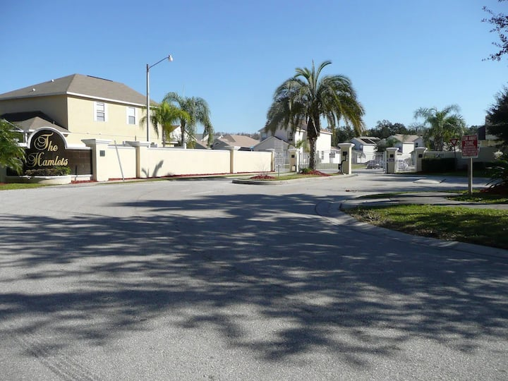 4 BR South Facing Pool Home 5 miles from Disney