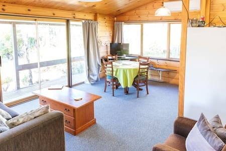 Cosy, spacious, relaxing, Ruapehu Alpine Retreat - National Park - Σπίτι