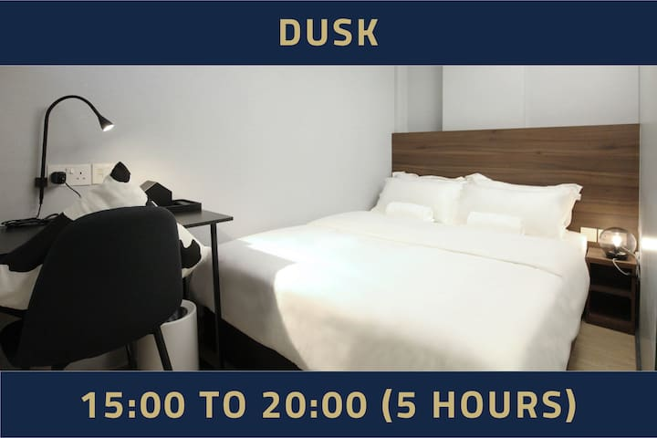 Day use,5 hours only: 3PM-8PM same day in Bugis