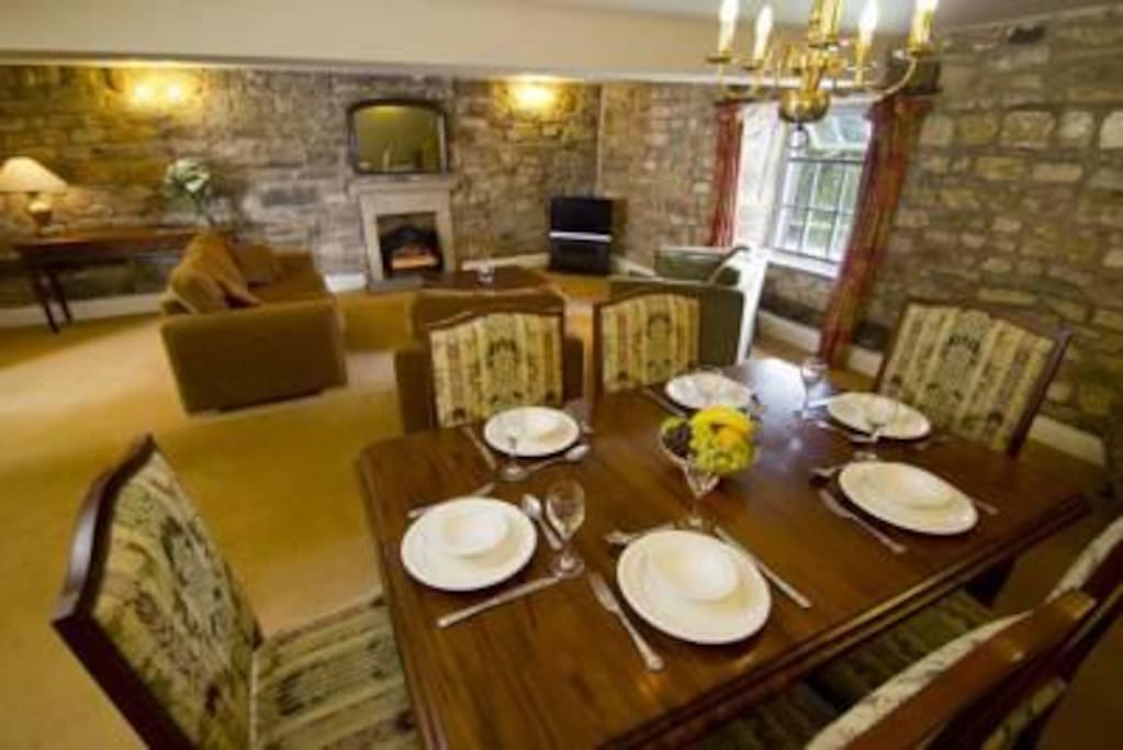 Thurnham Hall Dining Area