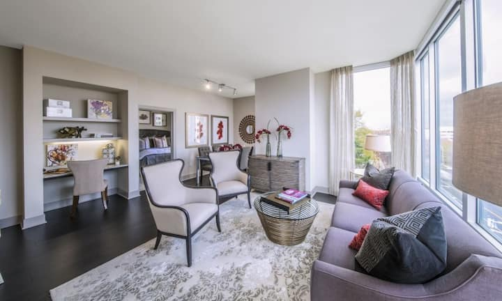 Live + Work + Stay + Easy | 2BR in McLean