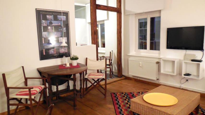 """Ideale Wohnung für """"Zeitreisende""""."""