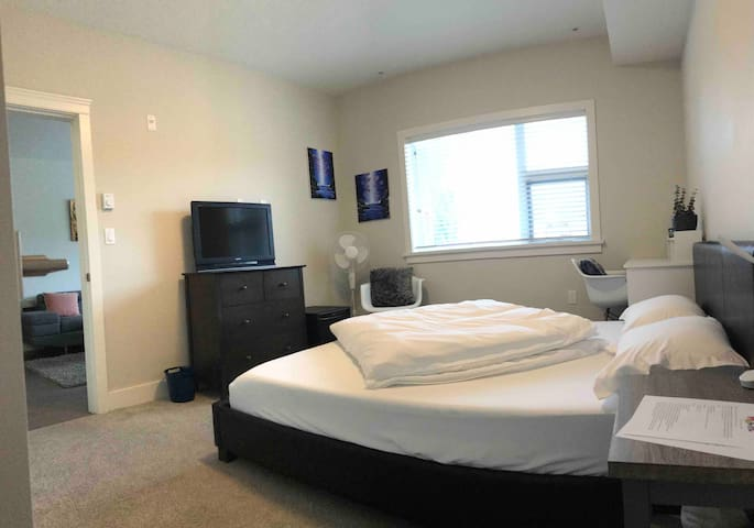 Private Bedroom and Bathroom in Central location!