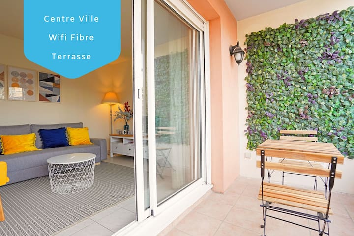 LOVELY APARTMENT   TERRACE ❤ 5min to C. Mirabeau