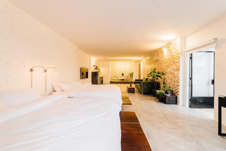 A Spacious Apartment with Bathtub at Center DaLat