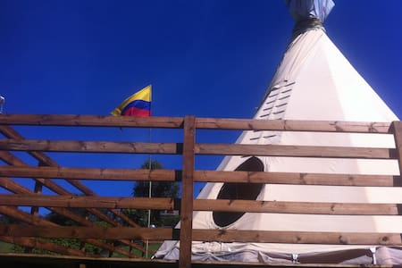 Antara -Tipi - Guasca - Kızılderili Çadırı