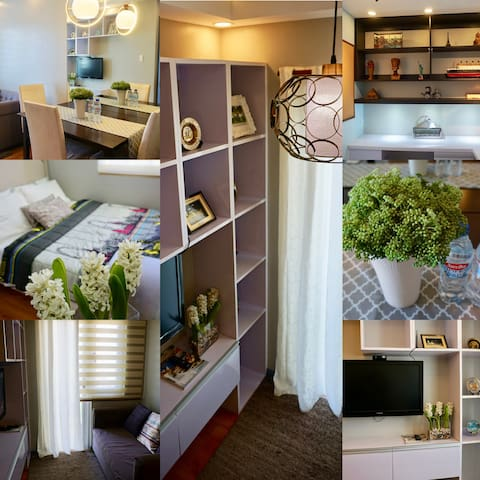 ★Cozy 1BR in Amaia Sucat - Study|Pool|Balcony|Wifi