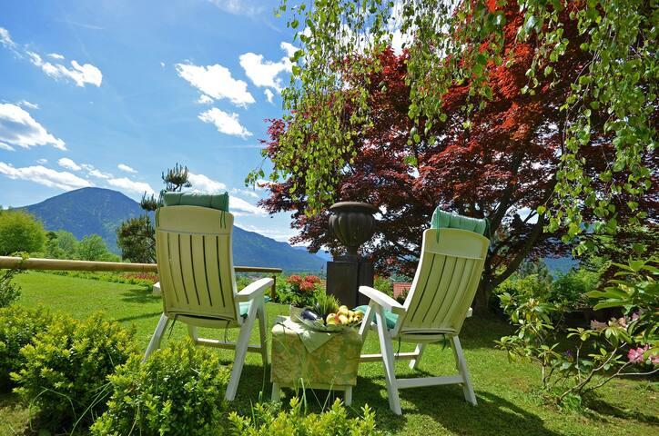 ein Teil des Gartens ist zur Mitbenutzung und Sonnentanken da :)