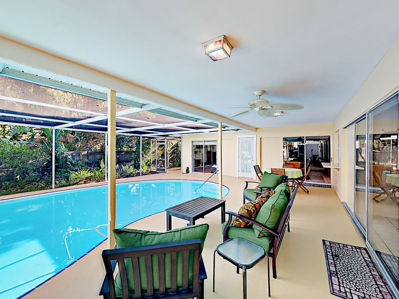 Lounge poolside and enjoy the BBQ grill.