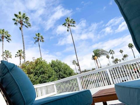 Beachy Townhouse Apartment - walk to ocean!
