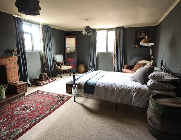 The Culm Valley Inn, King Size Bedroom no.1 - Culmstock - Inap sarapan