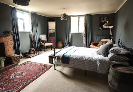 The Culm Valley Inn, King Size Bedroom no.1 - Culmstock - Aamiaismajoitus