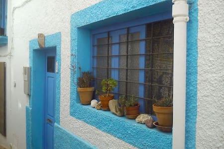 Casa acogedora, gran terraza y maravillosas vistas - Níjar