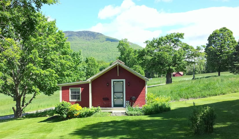 Country cottage - dramatic mountain/valley views.