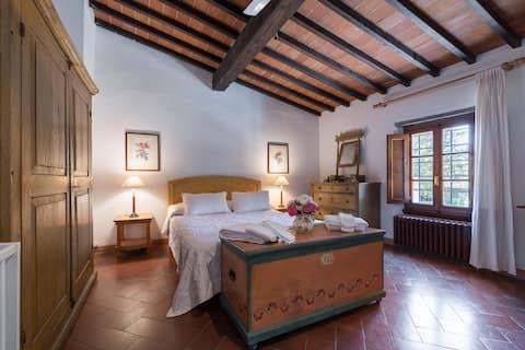 Piękny dom rustykalny Toskania