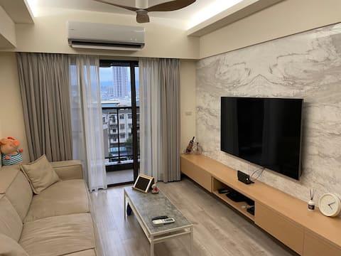 Clean Cozy Apartment near Taiwan Rail/BTS Daqing, Gokwon Station