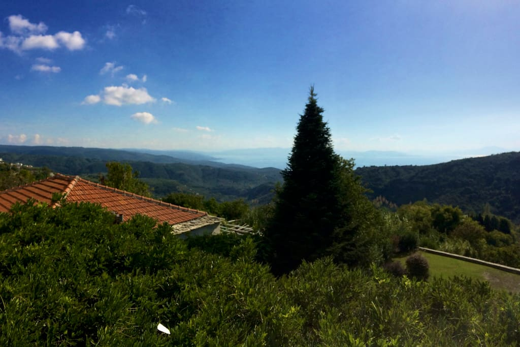 A traditional villa in the forest with amazing panorama views