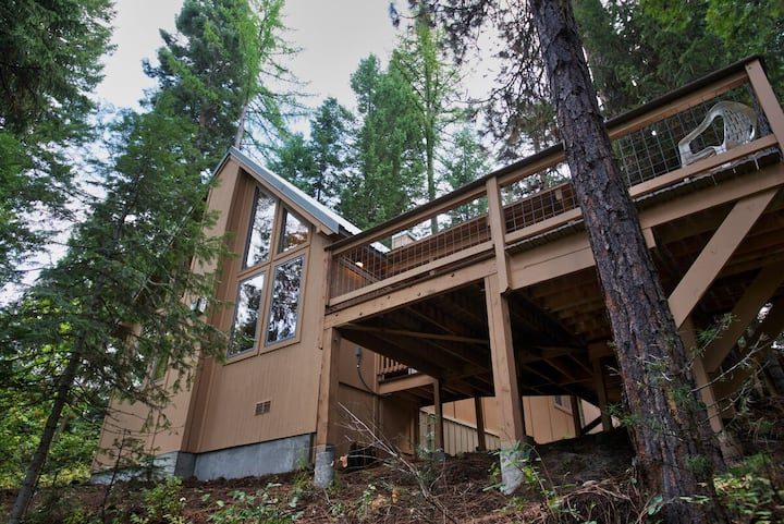 Carlson Cabin - Payette River Views and Access - Fishing - Private Wooded Settin