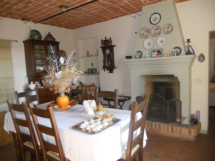 sala colazioni periodi freschi o freddi