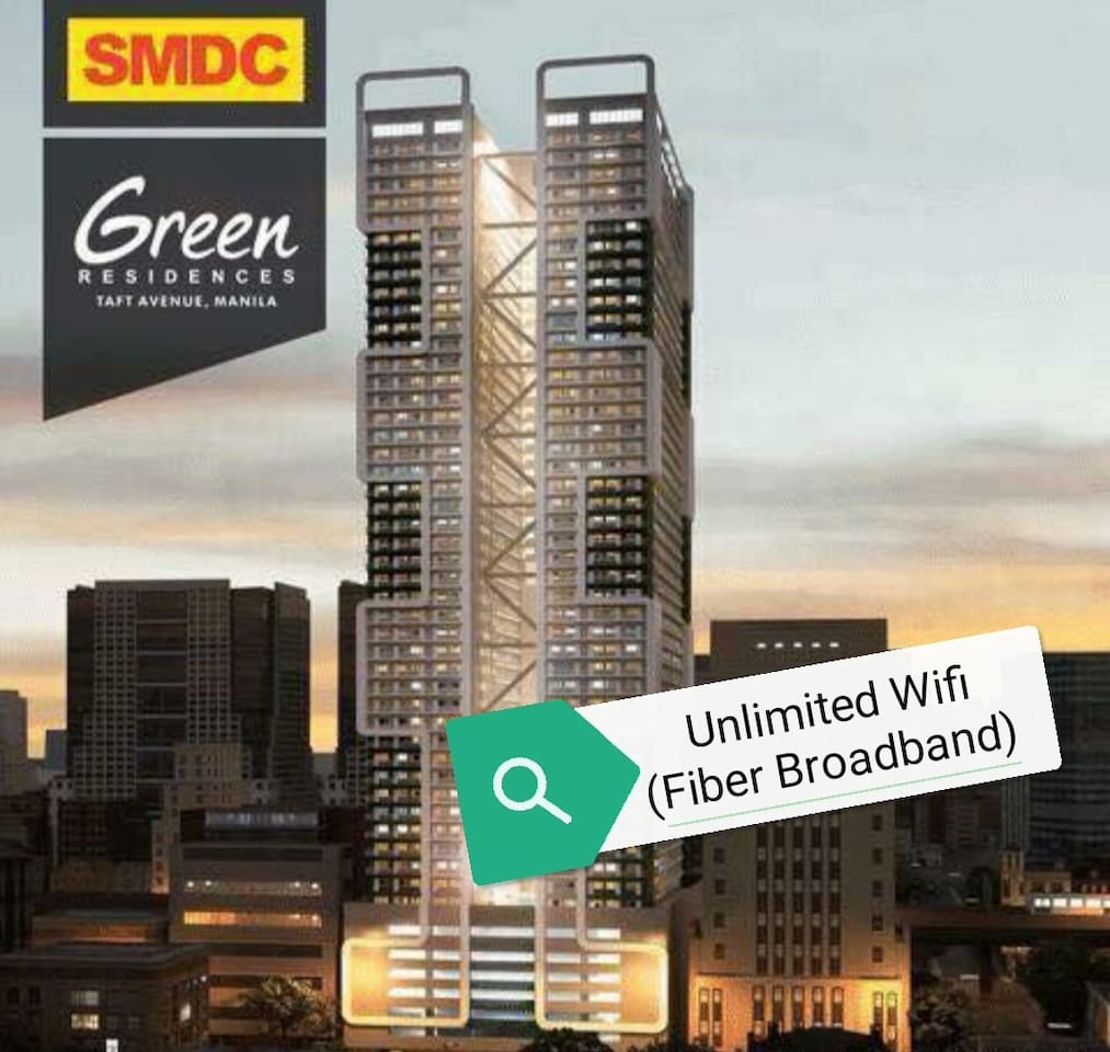 Furnished Studio Unit with Unlimited Fiber Broadband in Taft, Manila.