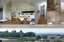 Loftappartement Schlossblick in Traumlage