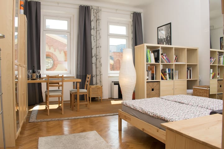 Nice two-bedroom A/C  apartment near the Danube