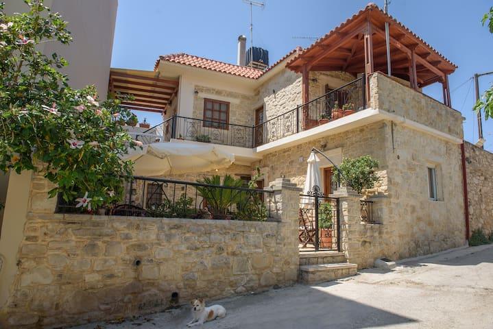 Evridiki's House /  70 sqm Apartment