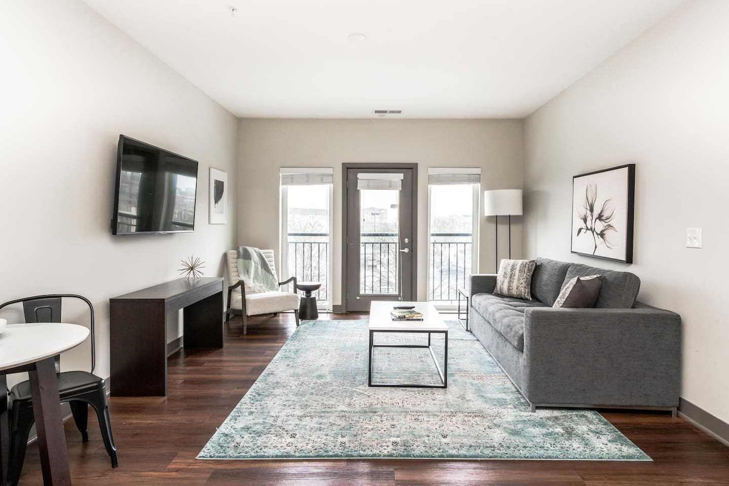 Welcome to your large 2 bedroom suite in downtown Indy!