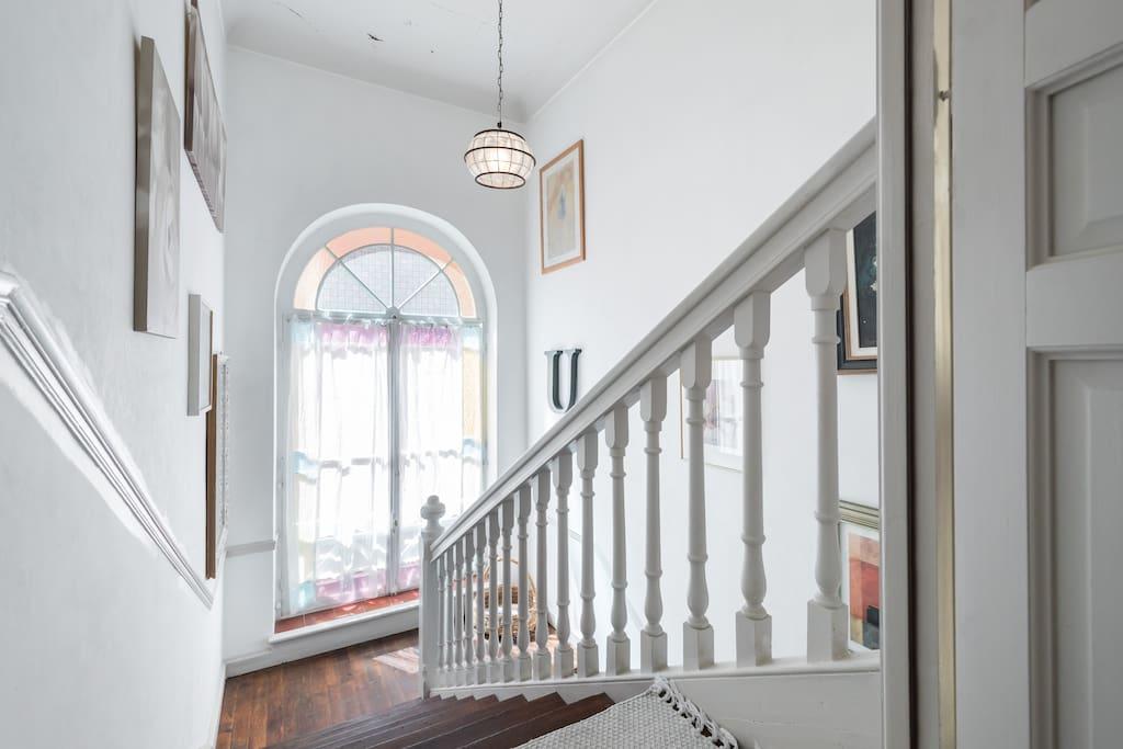Accès escaliers