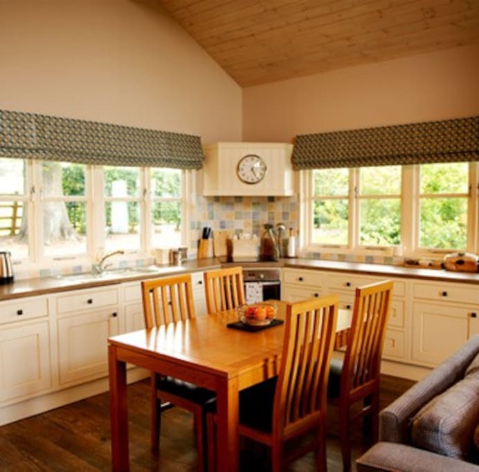 All your home comforts at our Shropshire holiday accomodation
