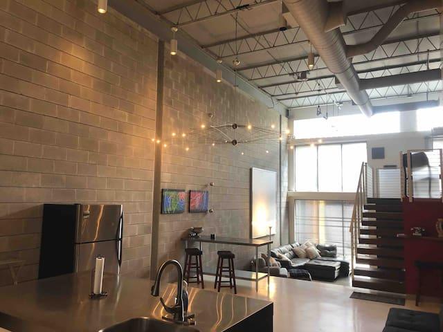 Ultra Modern Channelside Loft