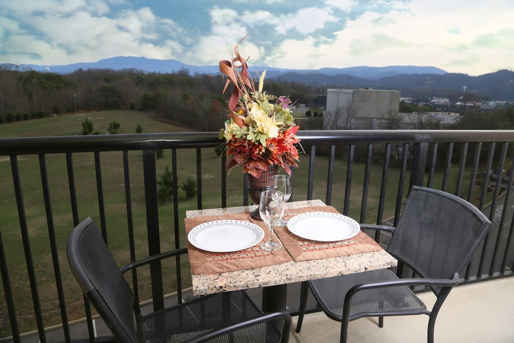 Mountain View Condo 3507-Balcony